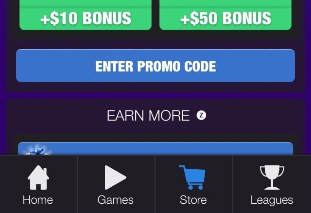 Dominoes Gold Promo code button