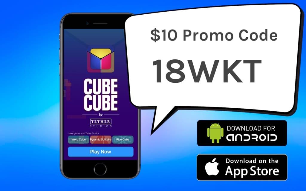cube cube promo code 18WKT