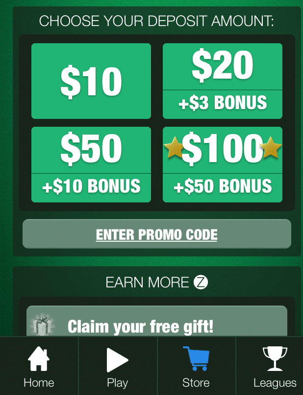 Enter Solitaire cube promo code