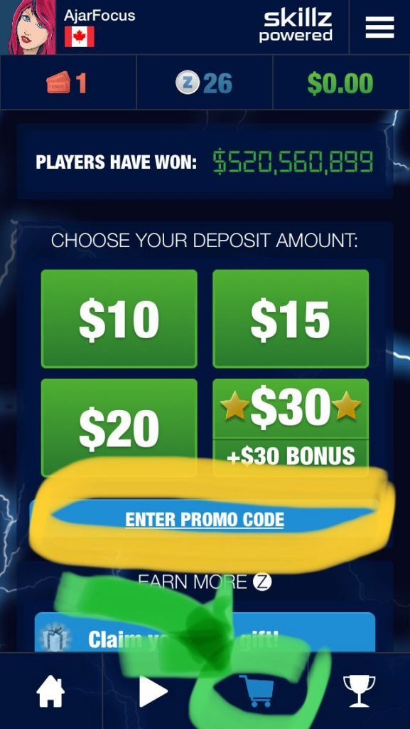 How to use block blitz promo code 2019 step 1
