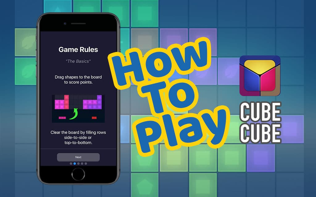 How to play Cube Cube app