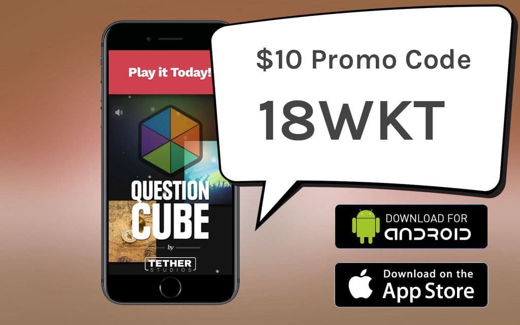 Question Cube Promo Code 18WKT
