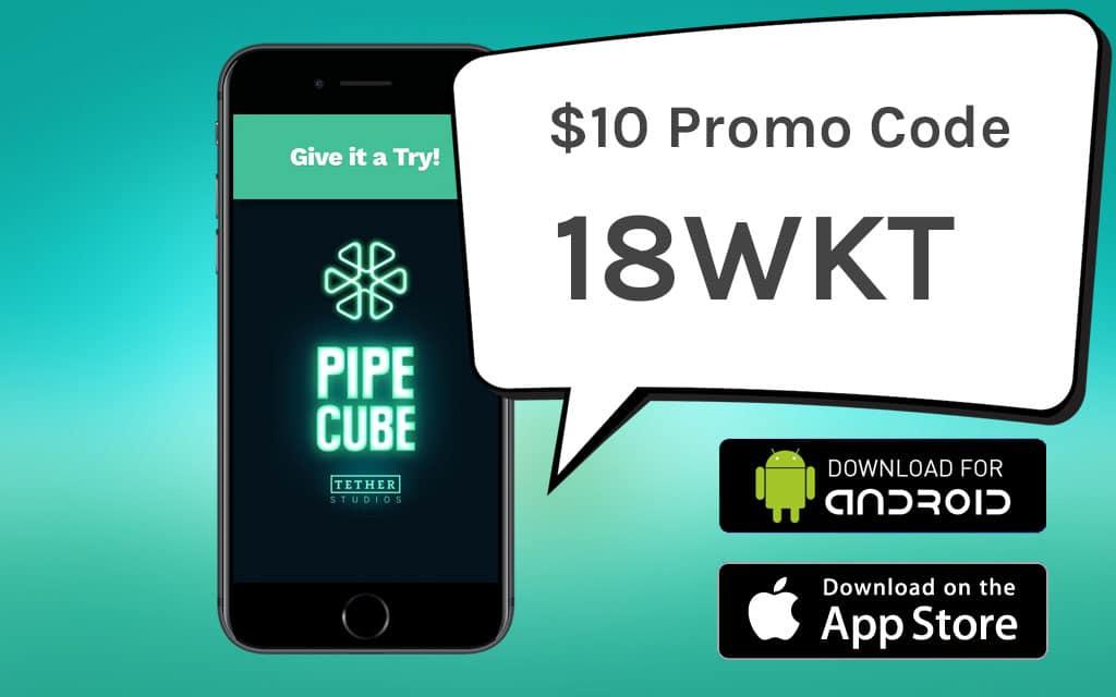 Pipe Cube Promo code