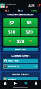 How to apply one solitaire cube promo code step 1