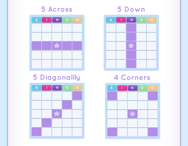 Blackout Blitz bingo types